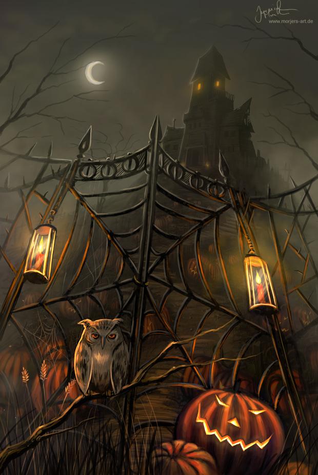 Halloween Haunted Houses Near Me