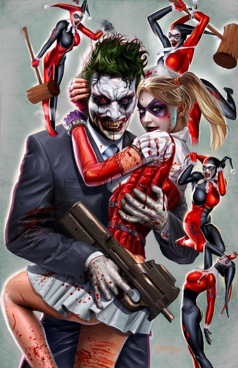 Joker Greg Horn