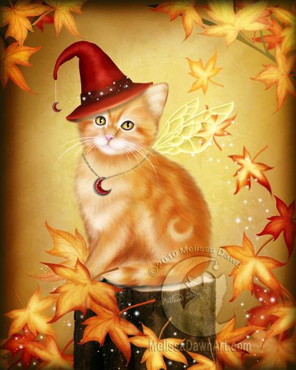 AutumnCatMagic_MelissaDawn