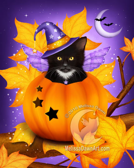 PumpkinCatMagic_MelissaDawn